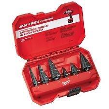 Milwaukee 48-89-9224 Step Drill Bit Set (6 PC)