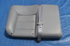 MK4 VW Jetta GTI Golf Grey Leather Rear Seat Back Rest Cushion 60 Oem 1999-2005