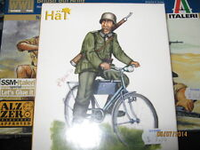 Hat Wwii German Soldier Bicyclists Figures-1/72 Scale-Free Shipping