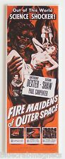 "Fire Maidens from Outer Space FRIDGE MAGNET (1.5"" x 4.5"" )insert movie poster"