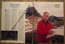 Article Marcel Landowski,opera Montsegur    1985, clipping