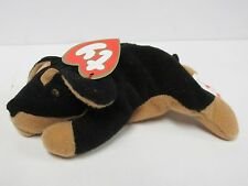 "Ty Teenie Beanie Baby ""Doby, the Doberman"" #1 of 12 - 1998 Series - New in Bag"