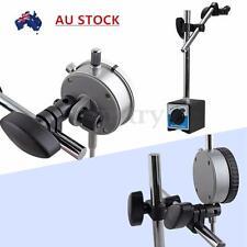 Double Adjustable Pole Magnetic Base Holder For Dial Indicator Test Gauge Tool