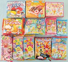 12 PCS Set Japanese Candy Kit Kracie Popin Cookin Happy Kitchen Sushi Set Gift