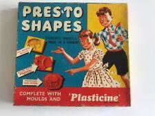 1950s Set Plastilina – PRES's a forme – Completo di stampi e della plastilina.