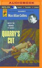 Quarry: Quarry's Cut : A Quarry Novel 4 by Max Allan Collins (2016, MP3 CD,...