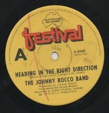 "THE JOHNNY ROCCO BAND   Rare 1975 Australian Only 7"" OOP Funk Single ""Heading"""