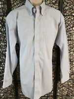 BROOKS BROTHERS 346 MENS LONG SLEEVE OXFORD BUTTON UP SHIRT SIZE 17 4/5