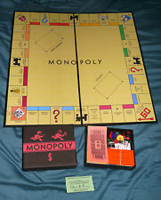 Complete Darrow Black Box 1935 Style Reproduction Monopoly Game Set