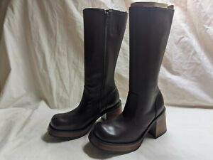 Steve Madden Vintage Ray boots brown brand new sizes 5 1/2,  6, 6 1/2, 7, & 8.