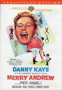 MERRY ANDREW starring Danny Kaye (DVD, 2011) - LIKE NEW!!!