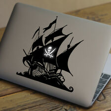 "Barco Pirata Apple Macbook Decal Sticker encaja 11"" 12"" 13"" 15"" y 17"" Modelos"