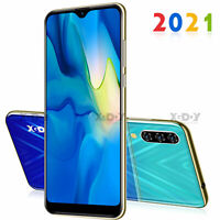 New Cheap Unlocked Android 16GB Smartphone 6.3 In Cell Phone Dual SIM Quad Core