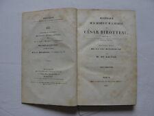 H. de BALZAC, César Birotteau, 1838, 2 volumes, édition originale, à relier