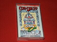 CONQUEST-VINTAGE COMMODORE 64/128 GAME-MASTERTRONIC LTD 1986-GOOD WORKING