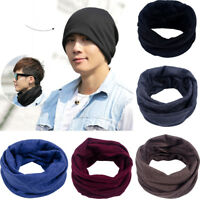 Head Scarf Hair Band Bandana Neck Snood Hat Motorbike Men Women Marl Pattern Sun