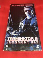 Terminator 2: Judgment Day (VHS, 1991) Box Damage