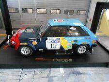 TALBOT Sunbeam Lotus Gr.2 Rallye GB RAC 1982 #13 Frequelin Shell IXO NEU 1:18