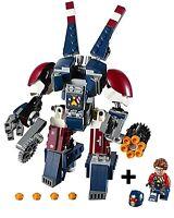 NEW LEGO 76077 JUSTIN HAMMER MINIFIGURE & DETROIT STEEL MECH BUILD ONLY - MARVEL