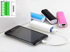 USB Portable External 5600mAh Backup Battery Charger Power Bank Case For Phone