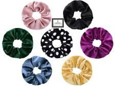 XL Scrunchie Haargummi Haarband Zopfband Zopfgummi schwarz rosa blau pink grau