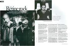 ▬► CLIPPING Photographe U2 Anton Corbijn 2 pages 2005