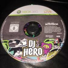 DJ Hero Disc Only no case XBOX 360