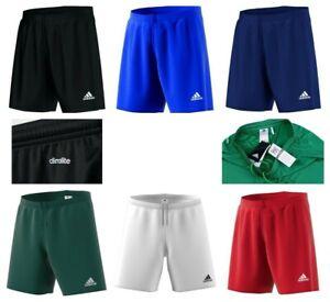 Adidas Mens Shorts Parma 16 Sports Football Training Gym Running Shorts Size