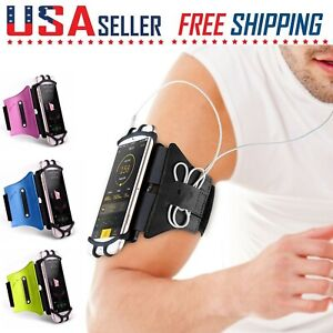 Cell Phone Sports Arm Band Running Jogging Workout Gym Holder iPhone Galaxy