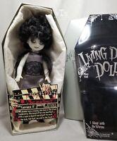 LDD living dead dolls series 5 * BLACK AND WHITE VARIANT JEZEBEL * open, tied