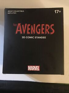Loot Crate Marvel Avengers 3D Comic Standee 2019 (Limited Edition)