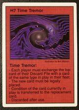 Galactic Empires CCG H7 Time Tremor Hazard Card Promo Rare OOP Free SHIP