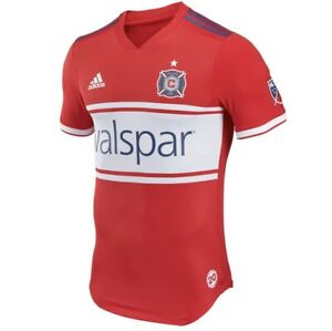 2018 2019 Chicago Fire Soccer Jersey MLS USA XL Adidas Authentic