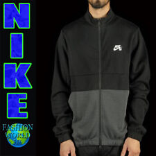 Nike Men's Size Medium Sb Dry Track Jacket Black Anthracite White Dri-Fit At3639