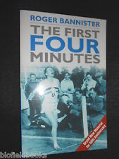 SIGNED; ROGER BANNISTER - The First Four Minutes - 2004 - Mile Runner, Record