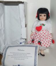 "Royalton Collection Bisque 10"" Tall Porcelain Valentine Doll New"