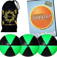 Jeux et activités de plein air jonglages verts balles