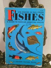 FISHES Golden Nature Guide Identification Fish H Zim Fresh Saltwater NO ISBN