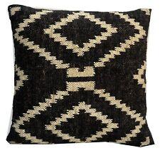 Wool Jute Hand Woven Kilim Cushion Cover Hand Made Throw Pillows Cases