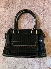 Ted Baker Black Patent Handbag