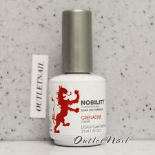 LeChat Nobility GRENADINE NBGP16 0.5oz Soak Off Competition Gel Polish *Ship 24H