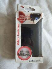TUFF-Luv Imitación de Cuero Cartera Estilo Funda Para Smartphones-Blackberry 9300