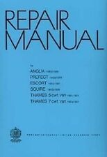 Ford Anglia 100E 1953 to 1959 Car Shop manual Book Catalogue Paper