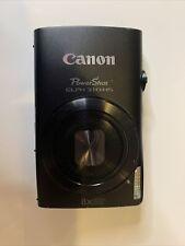 Canon PowerShot ELPH 310 HS / IXUS 230 HS 12.1MP Digital Camera - Black