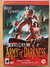 Army of Darkness DVD Evil Dead 3 Cult Horror Film Classic Rare Anchor Bay 2-Disc