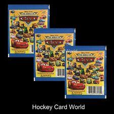 (HCW) Disney Pixar Cars Album Sticker Pack x3 (3 Pack Lot - 24 Stickers)
