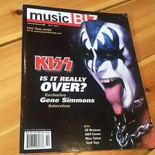 Kiss Music Biz Magazine 2002 Gene Simmons Cover