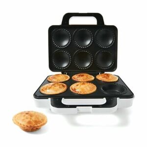 6 Mini Family Pie Maker Non Stick Snack Treat Biscuit DIY Quiche Machine Dessert