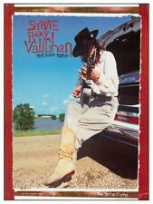 Stevie Ray Vaughan - Poster - Double Trouble the Sky Is Crying promo - Wall Art