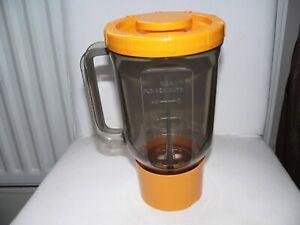 KENWOOD CHEF - Blender/Liquidiser -  Tangerine - A989 (901 & KM) Ex Condition.